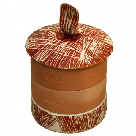 Katalin-GAIA Ceramic Sprouter - Red Ochre l.