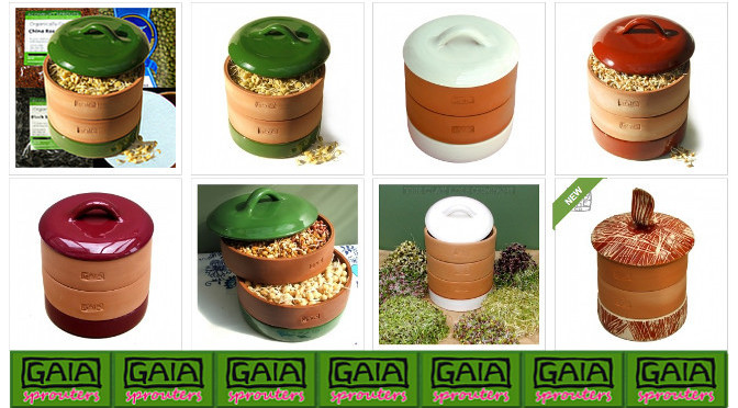 GAIA Sprouters shop